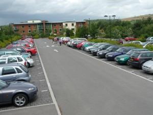 Car park, parking