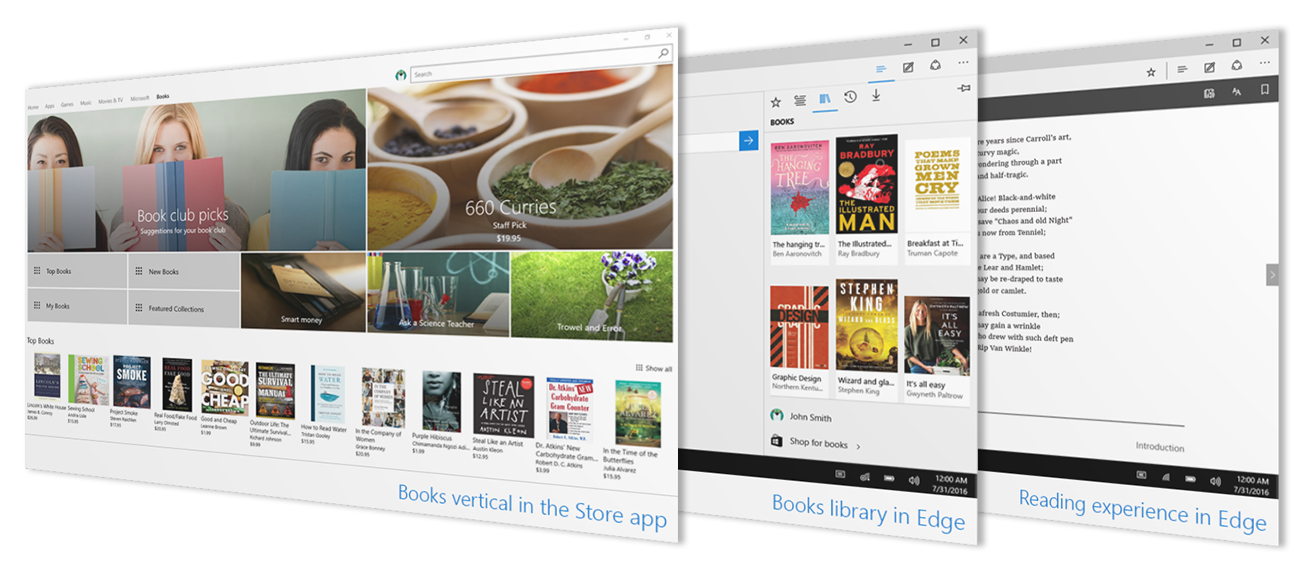 Windows 10 eBooks