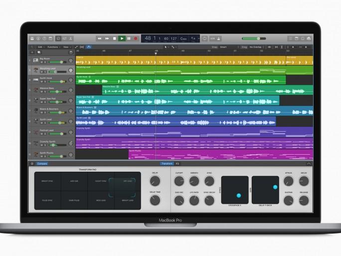 Apple music Logic Pro X