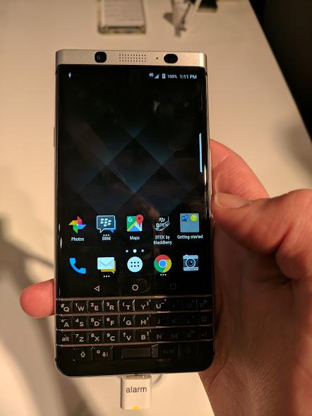 BlackBerry KeyOne hands-on