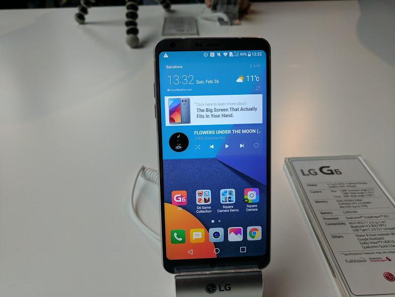 LG G6 Black
