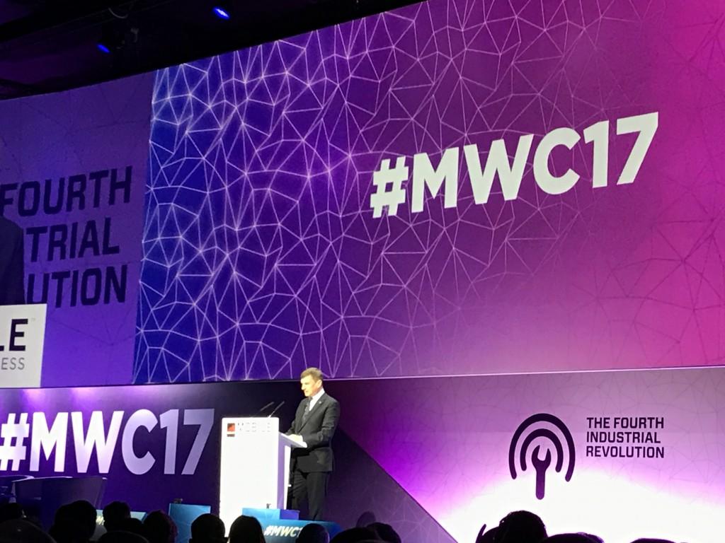 MWC 2017 Andrus Ansip EU