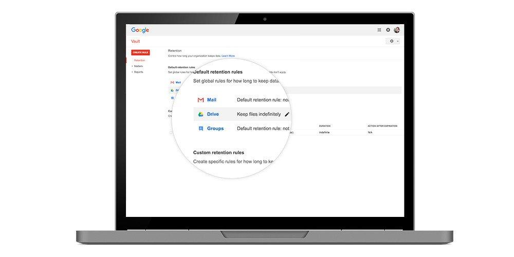 Google Vault for Drive