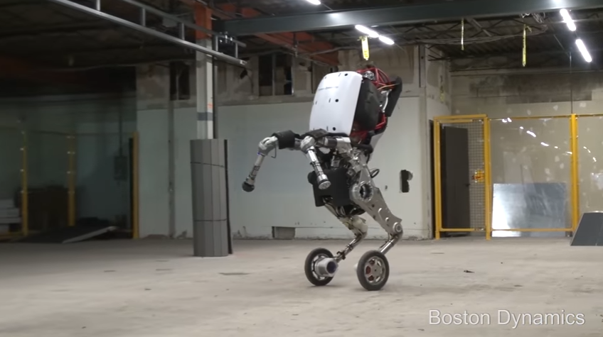 Handle Boston Dynamics