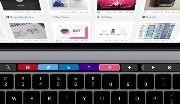 Opera touchbar support