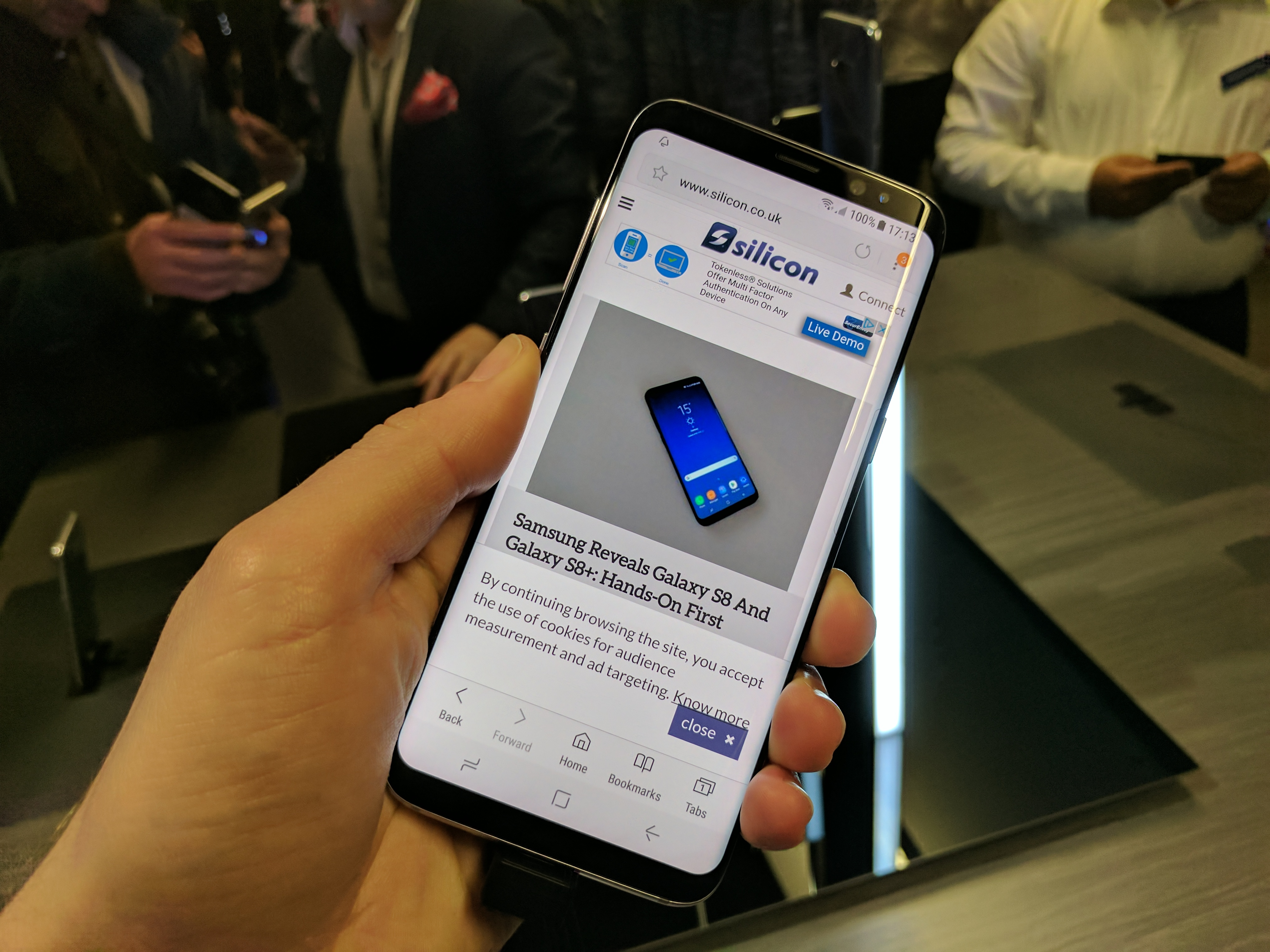 Samsung Galaxy S8 Arrives In The UK: Hands-On Review