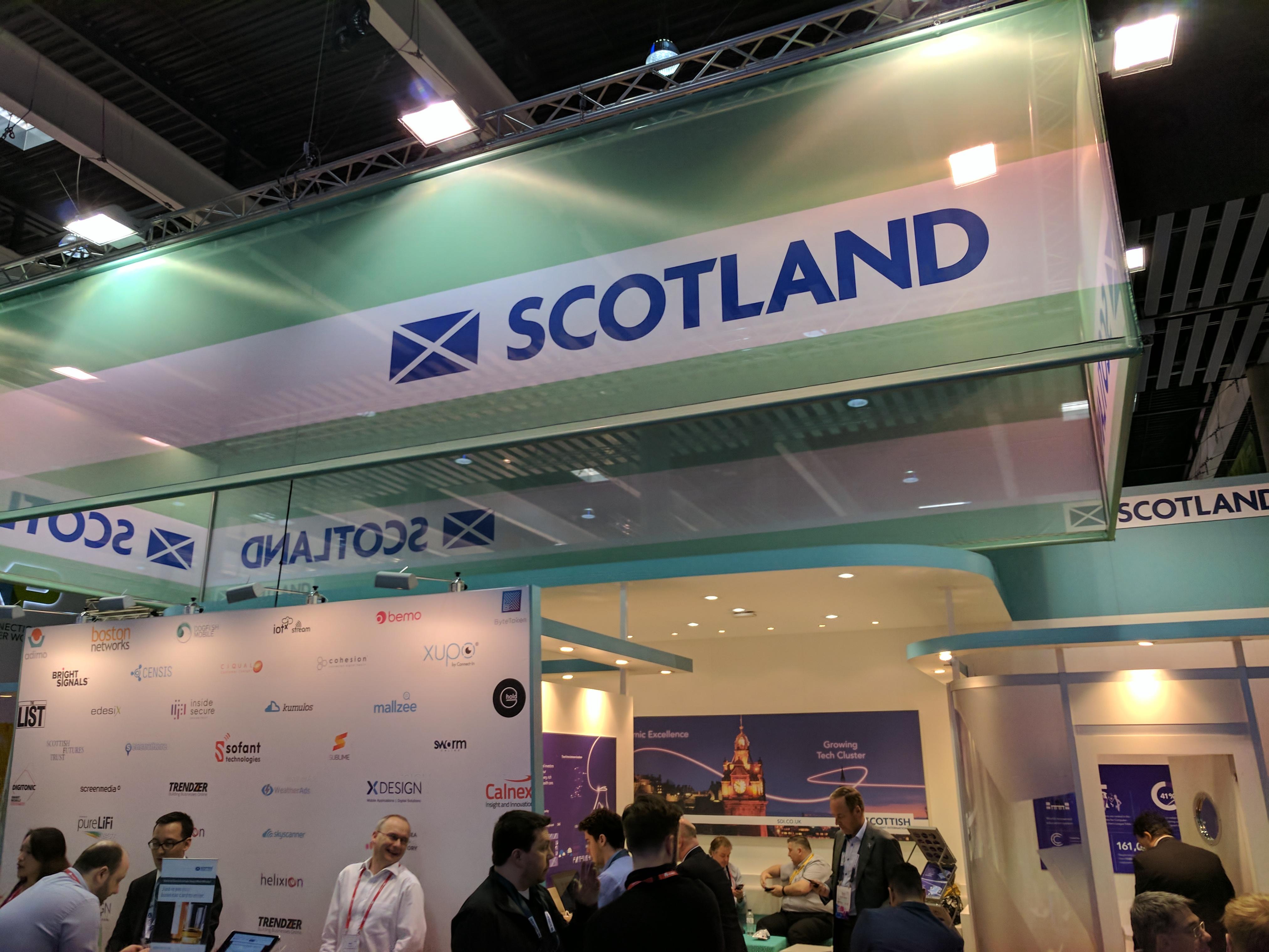 Scotland at MWC 2017