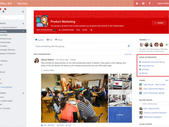 Yammer Office 365