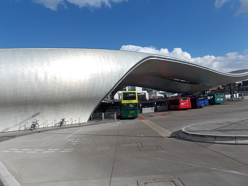 New Slough bus station