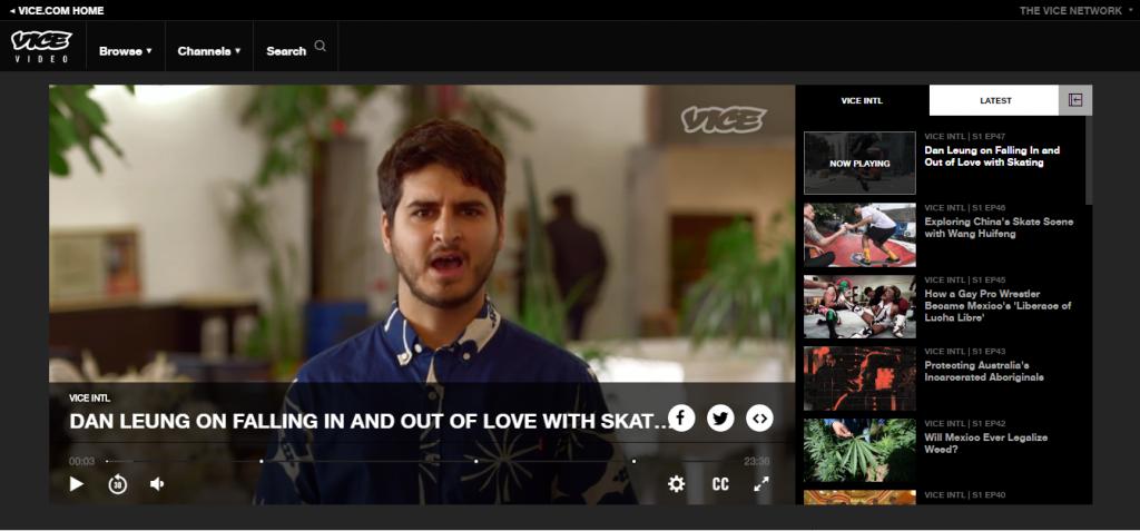 Vice Video