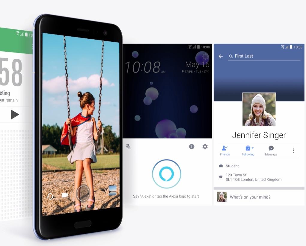 HTC U11 UI