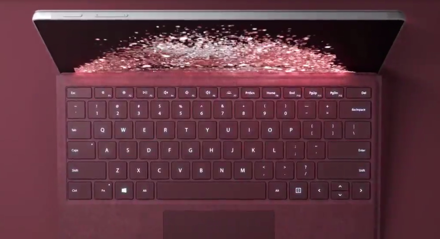 Microsoft new Surface Pro colour
