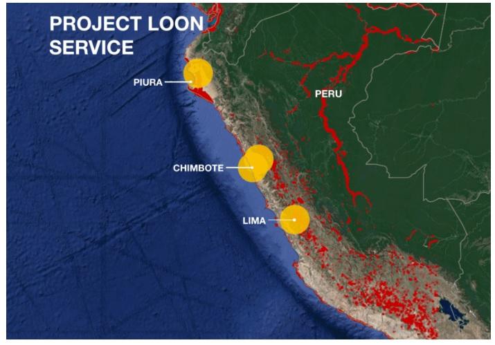 Project Loon Peru