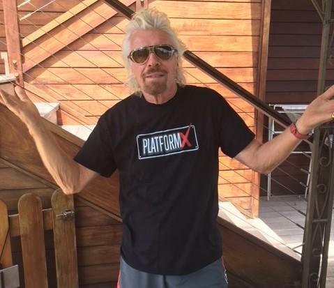Richard Branson, Platform-X