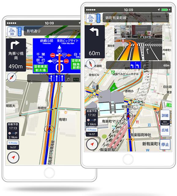 TC Smartphone Navigation