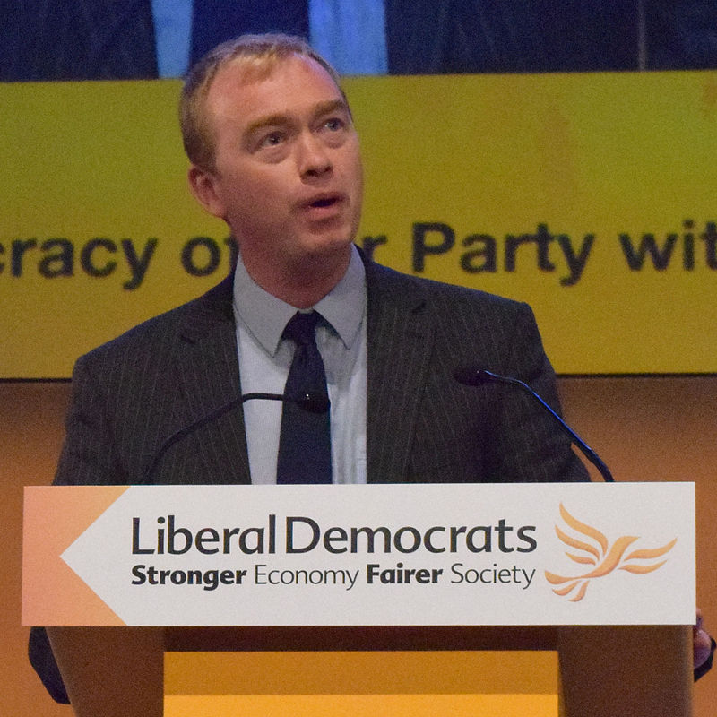 Tim Farron Liberal Democrats Lib Dems By Keith Edkins - Own work, CC BY-SA 3.0