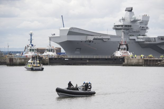 HMS Queen Elizabeth Will Not Have Windows XP Systems When Operational — MoD