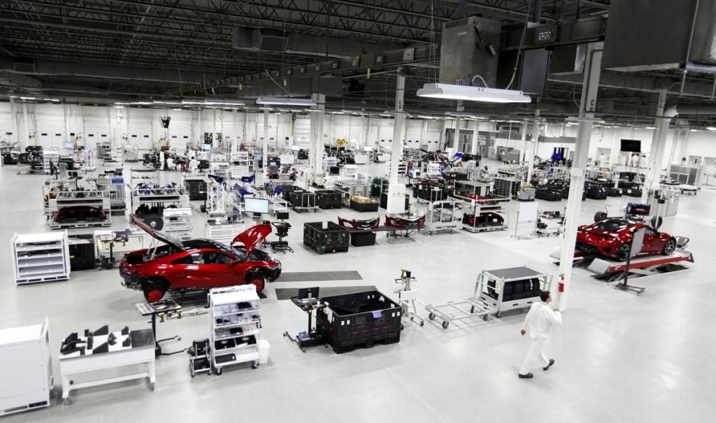 Honda manufacturing plant