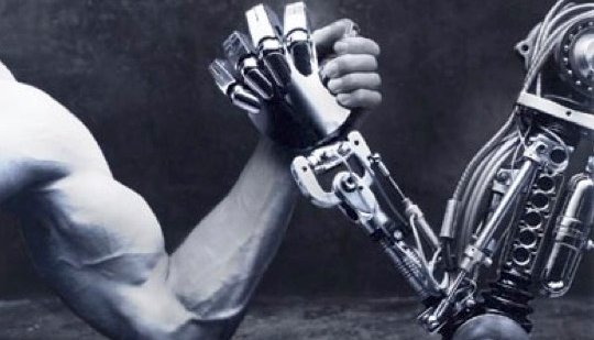man v machine