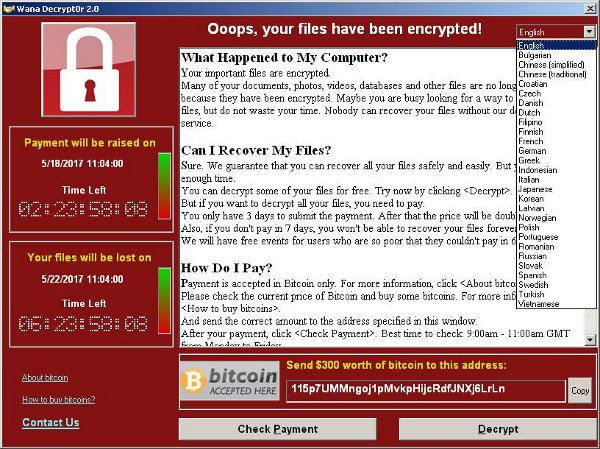 WannaCry virus cancels speeding fines in Australia