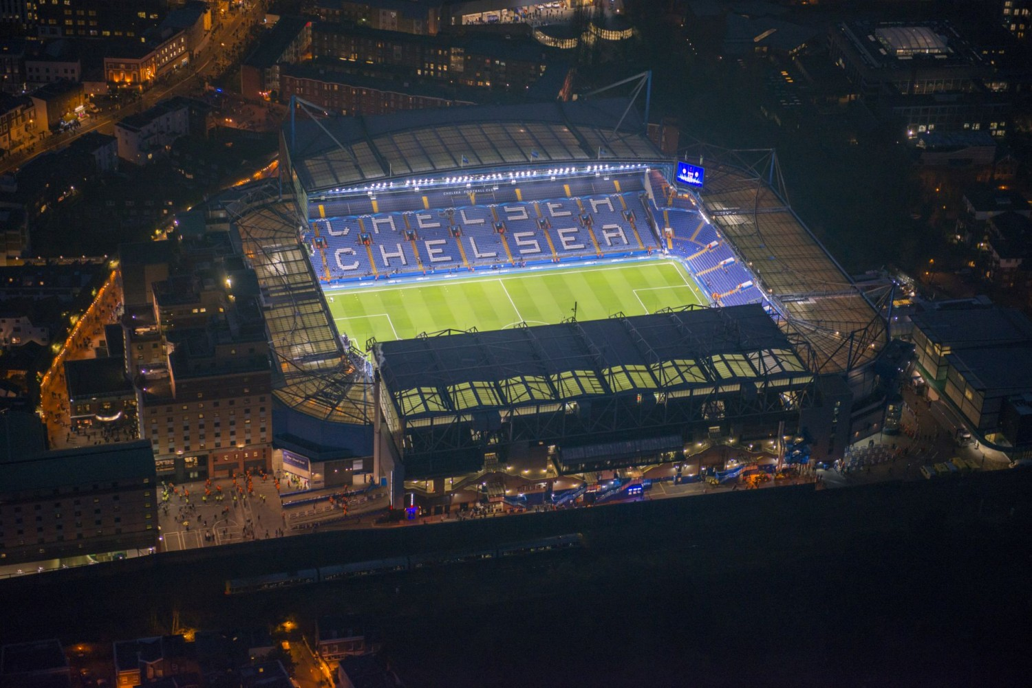 Ericsson Signs For Chelsea Fc To Connect Stamford Bridge