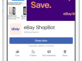 Facebook natural language processing Messenger ebay