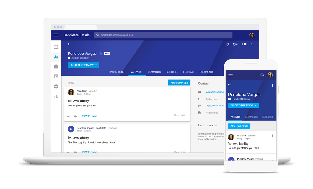 Google launches Hire recruitment app