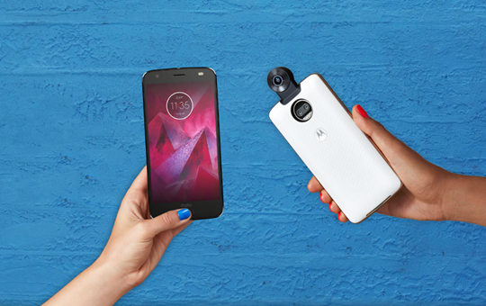 Moto Z2 Force Officially Announced with 6GB of RAM and Thinner Design
