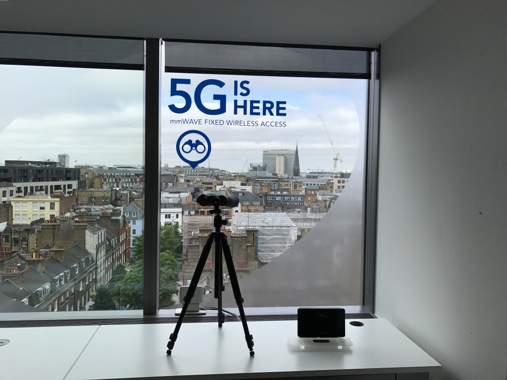 Samsung Arqiva London 5G 2