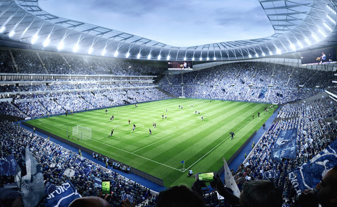 Spurs New Stadium Is Premier League S Most Technologically