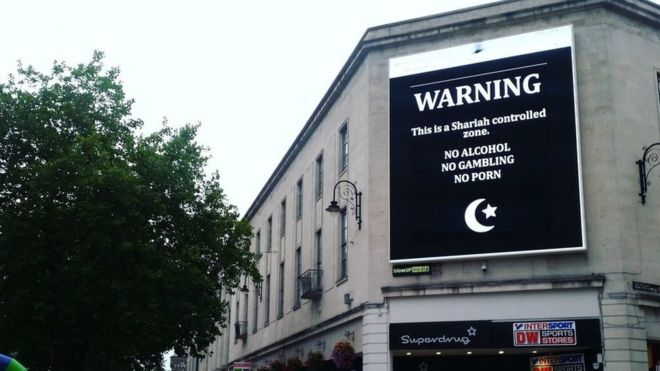 Cardiff billboard