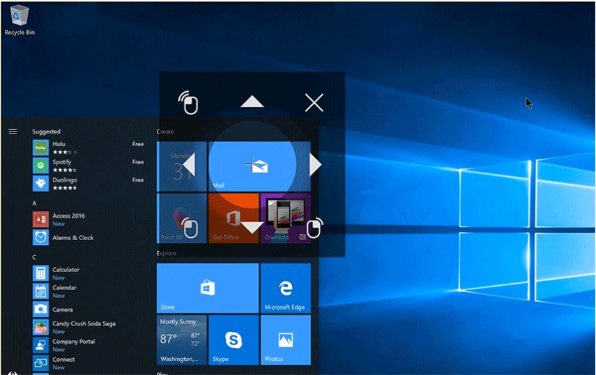 Microsoft Fine-Tunes Windows 10 and Debuts Beta Eye Control
