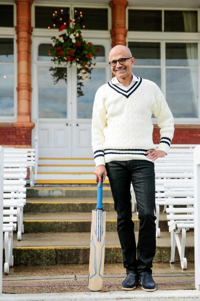 Microsoft CEO Satya Nadella Cricket 1