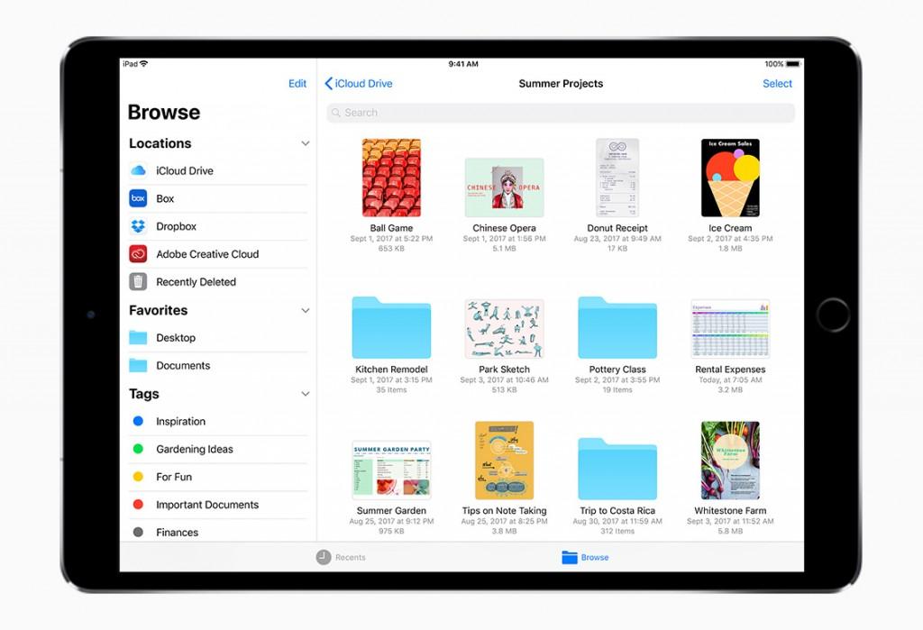 iPad iOS 11 1