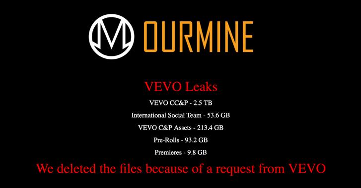 vevo-ourmine