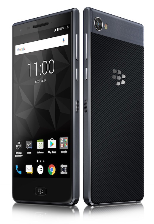 BlackBerry Motion display