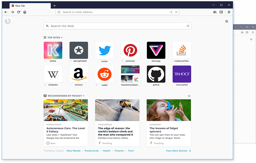 Firefox 57 brings Project Quantum to the masses