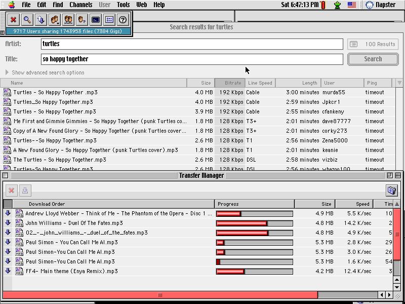 Napster Mac