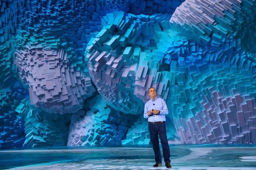 Intel CEO Brian Krzanich CES 2018