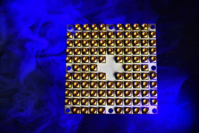 Intel's 48-qubit test chip