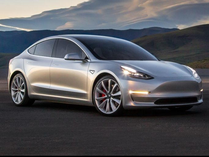 Tesla's Model 3 sedan. Image credit: Tesla