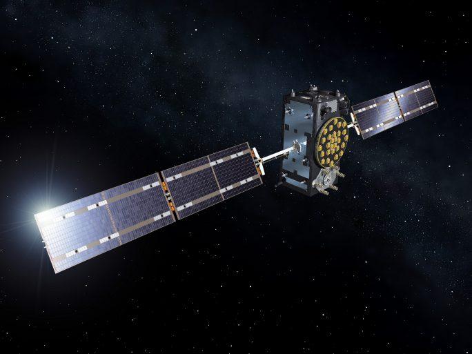Galileo satellite navigation system. Credit: ESA