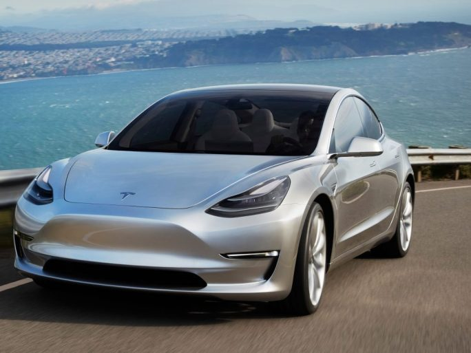 Tesla Model 3. Image credit: Tesla