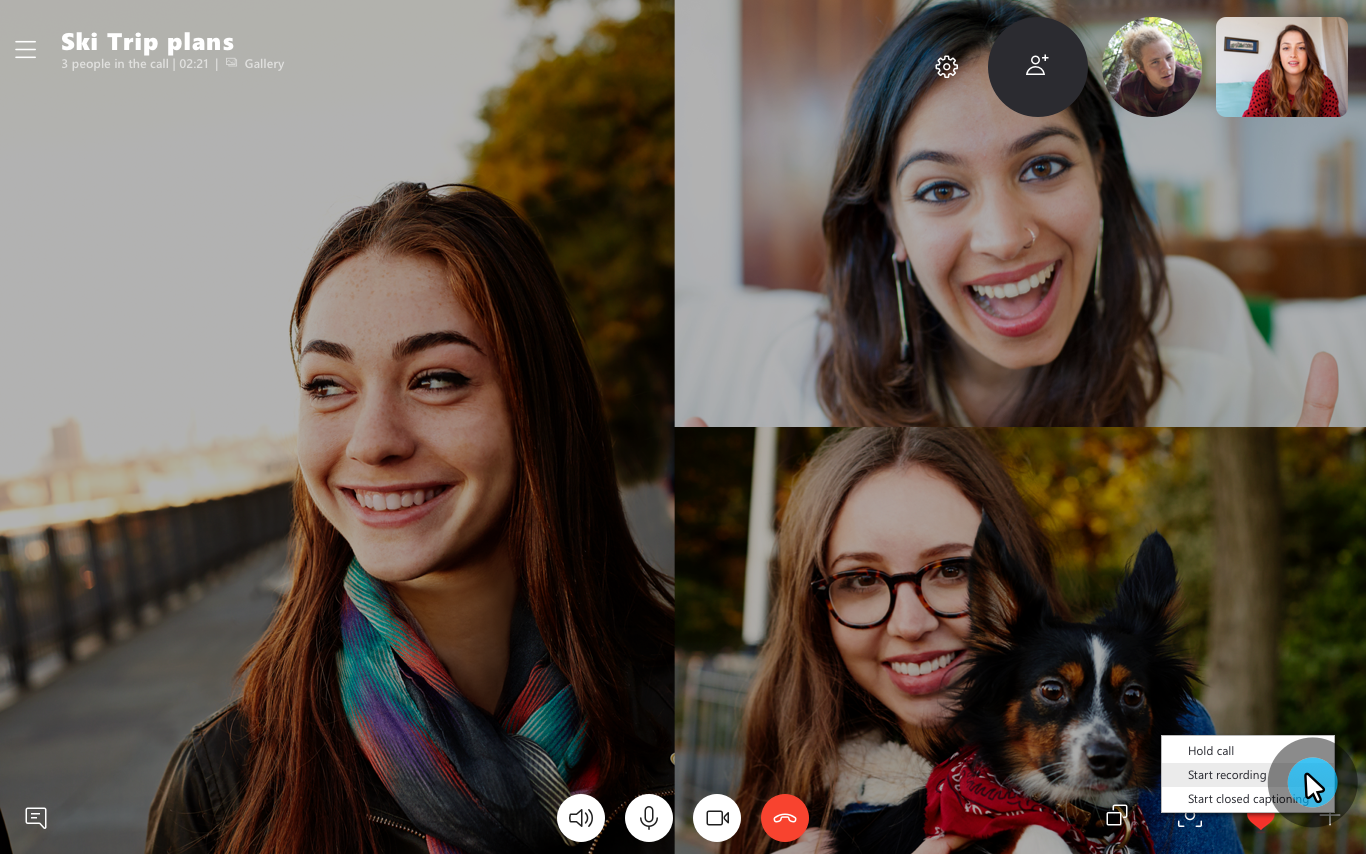 New update from Microsoft means you can now record Skype calls