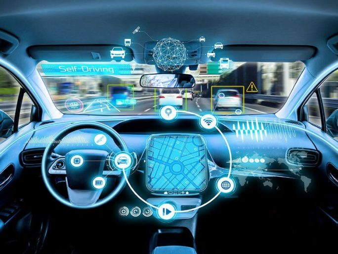 self-driving automated vehicle Image credit: ARM