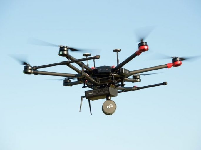 A drone manufactured by China's DJI. Image credit: DJI