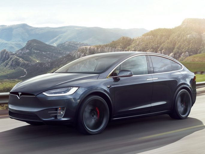 The Tesla Model X. Image credit: Tesla
