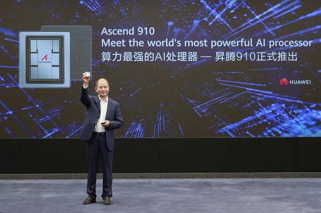 Huawei's Eric Xu.  Huawei
