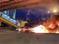Tesla, model 3, moscow, fire, instagram