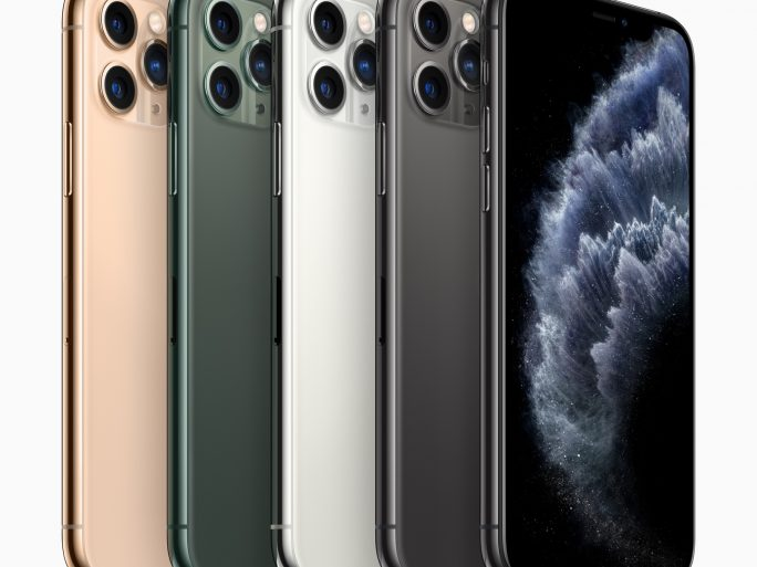 Apple's iPhone 11 Pro. Image credit: Apple